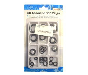 "Streetwize 50 Assorted ""O"" Rings"