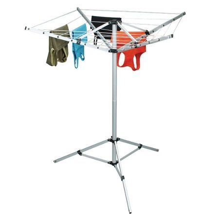 Sunncamp 4 Arm Rotary Airer and Camping Washing Line