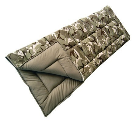 Sunncamp Camouflage Adults Sleeping Bag