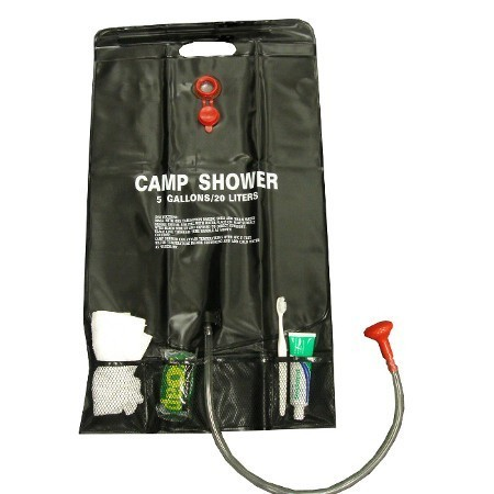 Sunncamp Solar Shower with Pockets
