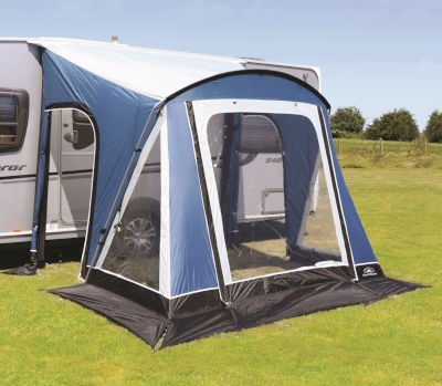 Sunncamp Swift 220 Deluxe Porch Awning - Blue