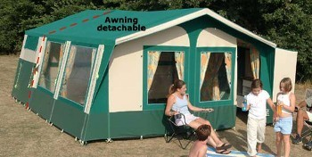 Sunncamp Holiday 350 Trailer Tent