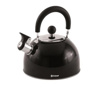 Outwell Tea Break M Whistling Kettle - Black