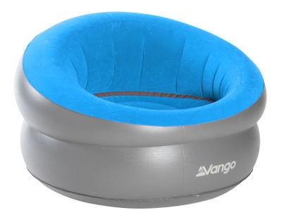 Vango Inflatable DLX Chair - Mykonos Blue