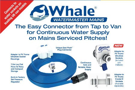 Whale Mains Connector for WaterMaster & Truma Ultraflow Sockets