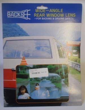 Backsee Wide Angled Rear Window Lens