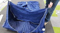 Brand New Waterproof Underbed Tent. Fits: Raclet Quickstop/All Makes and Models of 4 birth Folding Campers