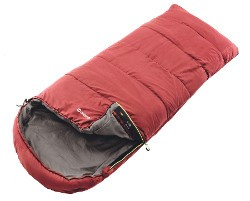 Outwell Campion Lux Single Sleeping Bag - Red