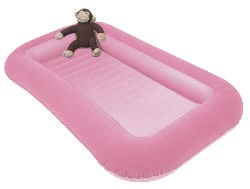 Kampa Airlock Junior Kids Air Bed - Pink