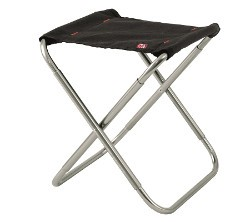 Robens Discover Stool - Silver / Black