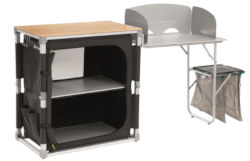 Outwell Padres Kitchen Unit with Side Table