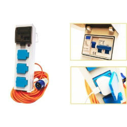Crusader 3 Socket Mobile Mains Kit