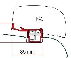 Fiamma Kit F40 Van VW T5 / T6 - RH
