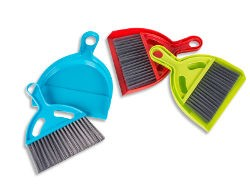 Kampa Bristle XL Dust Pan & Brush