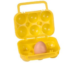Kampa Egg Carry Case - 6 Eggs
