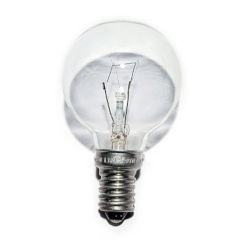 240V 25W Golf Ball Bulb E14 Screw Base