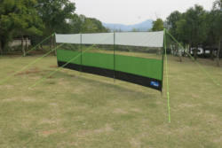 Kampa Lightweight 5m Windbreak Green