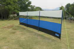 Kampa Lightweight 5m Windbreak Blue