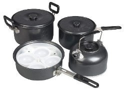 Kampa Gastro Non-Stick Family Cook Set