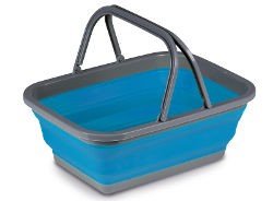 Kampa Collapsible Medium Washing Bowl - Blue