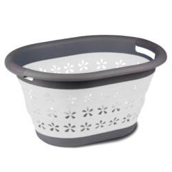 Kampa Collapsible Laundry Basket - Grey