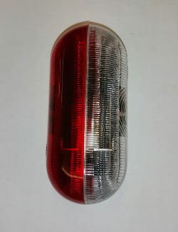 Jokon Rounded Side Marker - Red/White
