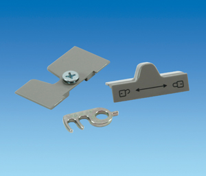 Dometic / Electrolux fridge door lock fixing kit for caravan & motorhome fridge