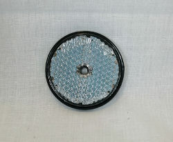 Round Vehicle Reflector (White)