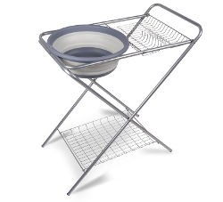 Kampa Wash Stand with Collapsible Bowl
