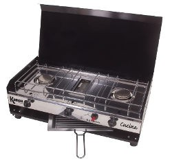 Kampa Cucina Double Gas Hob with Grill