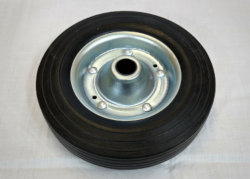 Metal Jockey Wheel 190mm x 40mm