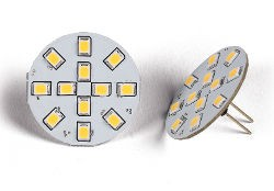 G4 SMD LED Bulb - 12 LED Rear Fitment