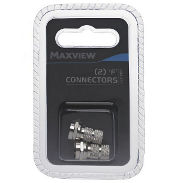 Maxview F Connectors Twin Pk