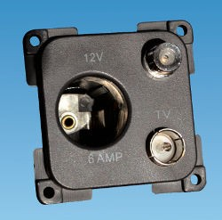 C-Line 12 Volt TV & Satellite Socket
