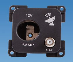 C-Line 12 Volt Satellite Socket
