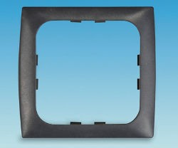 C-Line 1 way Face Plate - Square Edge