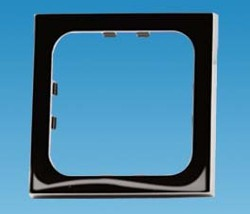 C-Line 1 Way Face Plate - Gloss Black