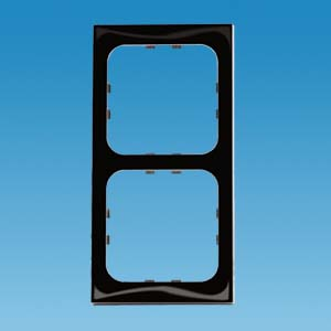 C-Line 2 Way Face Plate - Gloss Black