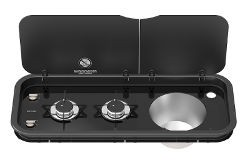Thetford Topline 111 - Combination Sink and Hob