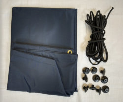 Blue Diamond Trailer Cover Kit - 4' x 3'