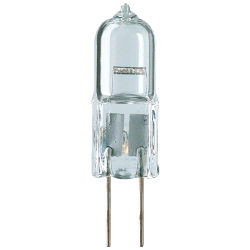 12V Capsule Halogen Bulb - 10W Bi-Pin G4 twin pack