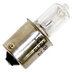 12v Halogen Bulb 10w with Single Contact Ba15s 15mm Bayonet Base.