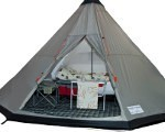 Campmaster Tipi Trailer Tent