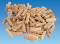 Hardwood Dowels 8mm x 30mm - Pack 100