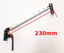 Caravan Window Stay - Auto Screw Fix 230mm Lever Lock