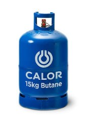 Calor Butane Gas Bottles 15KG REFILL