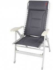 Deluxe Padded Camping Reclining Chair