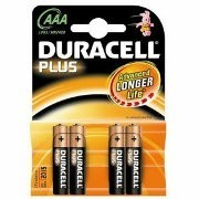 Duracell AAA Plus Power Batteries - 4 Pack