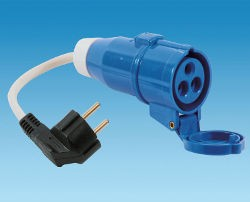 Continental Plug to Caravan Coupler Conversion Lead