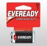Eveready super 9 volt battery
